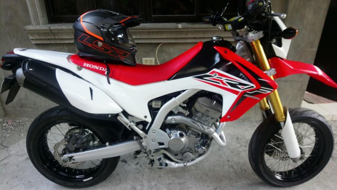 Honda CRF 250 motard 2015 photo