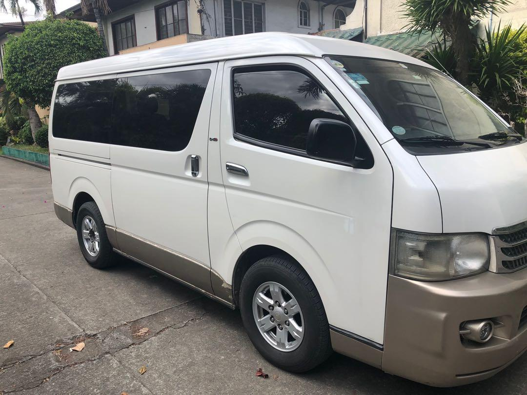 Toyota Hiace Super grandia Auto 2008 photo