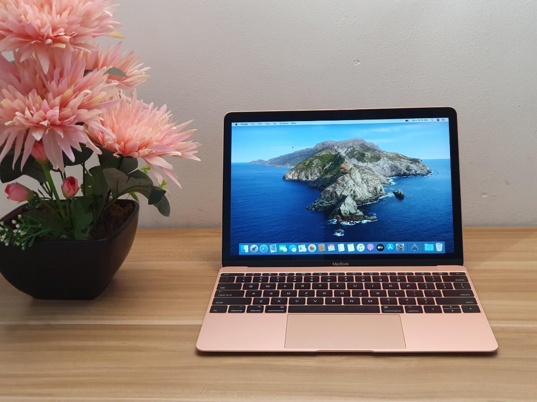 MacBook 12 Retina YM 2017 m3 Dualcore 8Gb 256ssd Catalina OS 15 Cycle photo