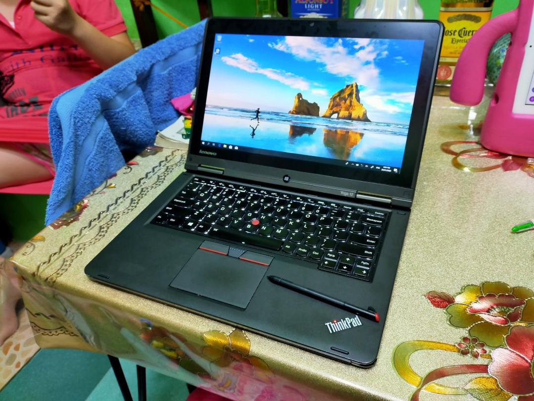 lenovo thinkpad Yoga 12 core i5 5th gen 8gb 256gb ssd photo