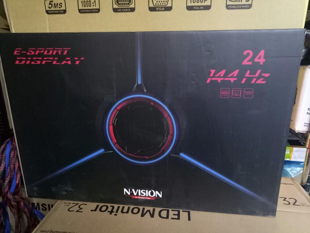 Nvision 24'curve monitor photo