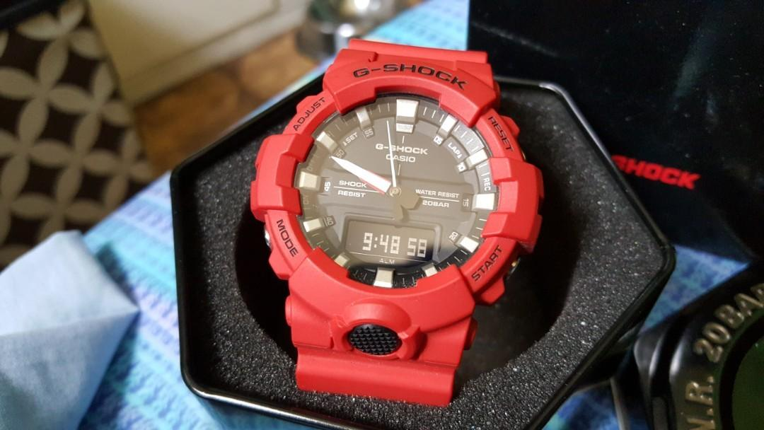Casio G-Shock GA 800 series photo