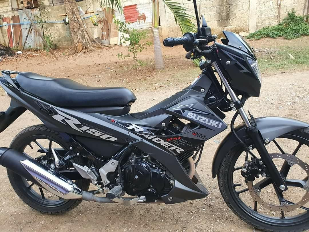 suzuki raider 150 2018 photo