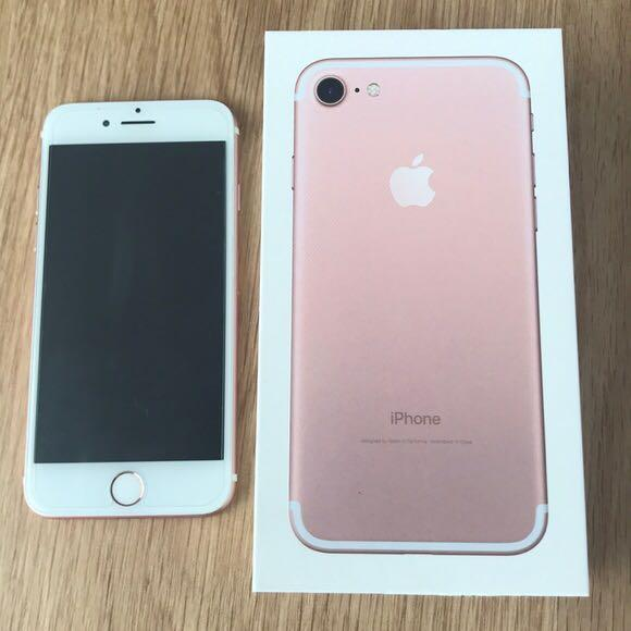 Apple iPhone 7 32GB Rose Gold photo