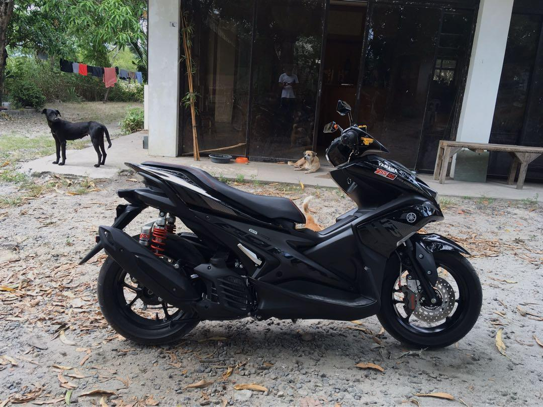 Yamaha Aerox limited black 2018 photo