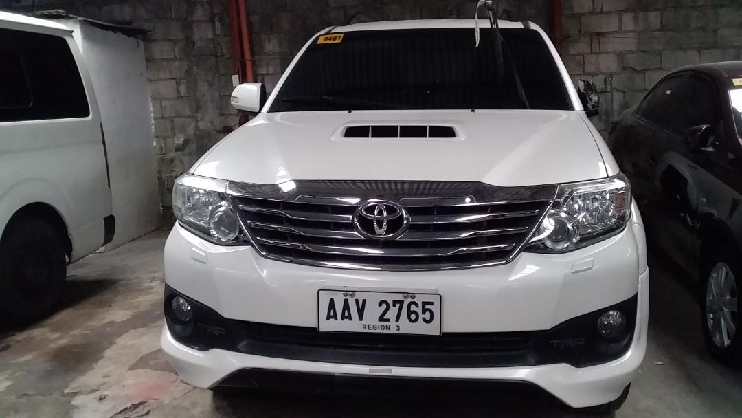2015 Toyota Fortuner 2.5 4x2V AT photo