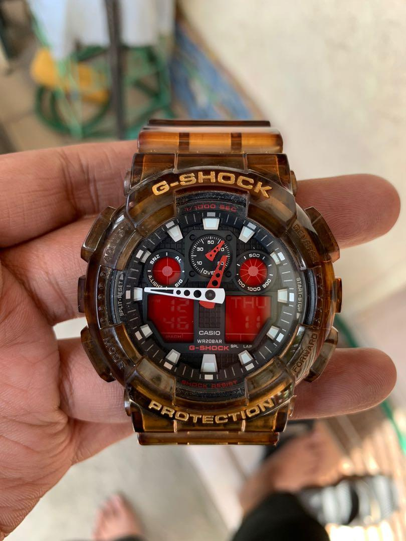 Gshock GA-100(custom jelly) photo