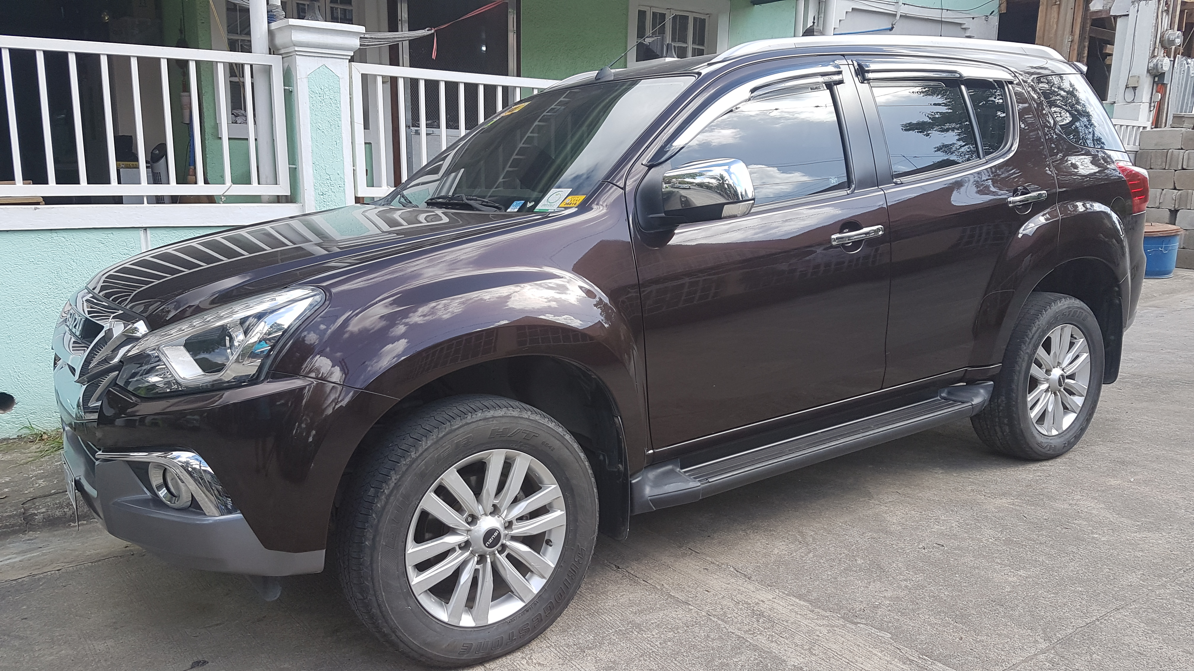 2018 Isuzu MUX LS-AT 3.0L Euro4 Havana brown photo