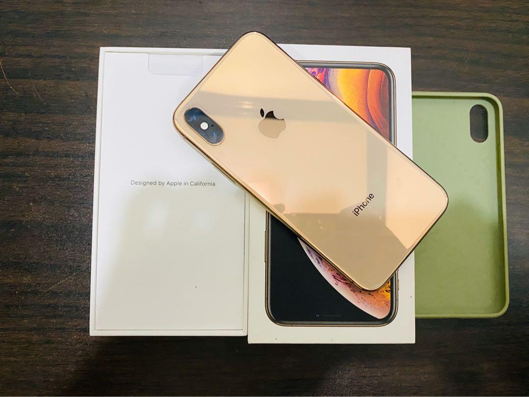 IPHONE XS 64gb smartlocked Gold photo