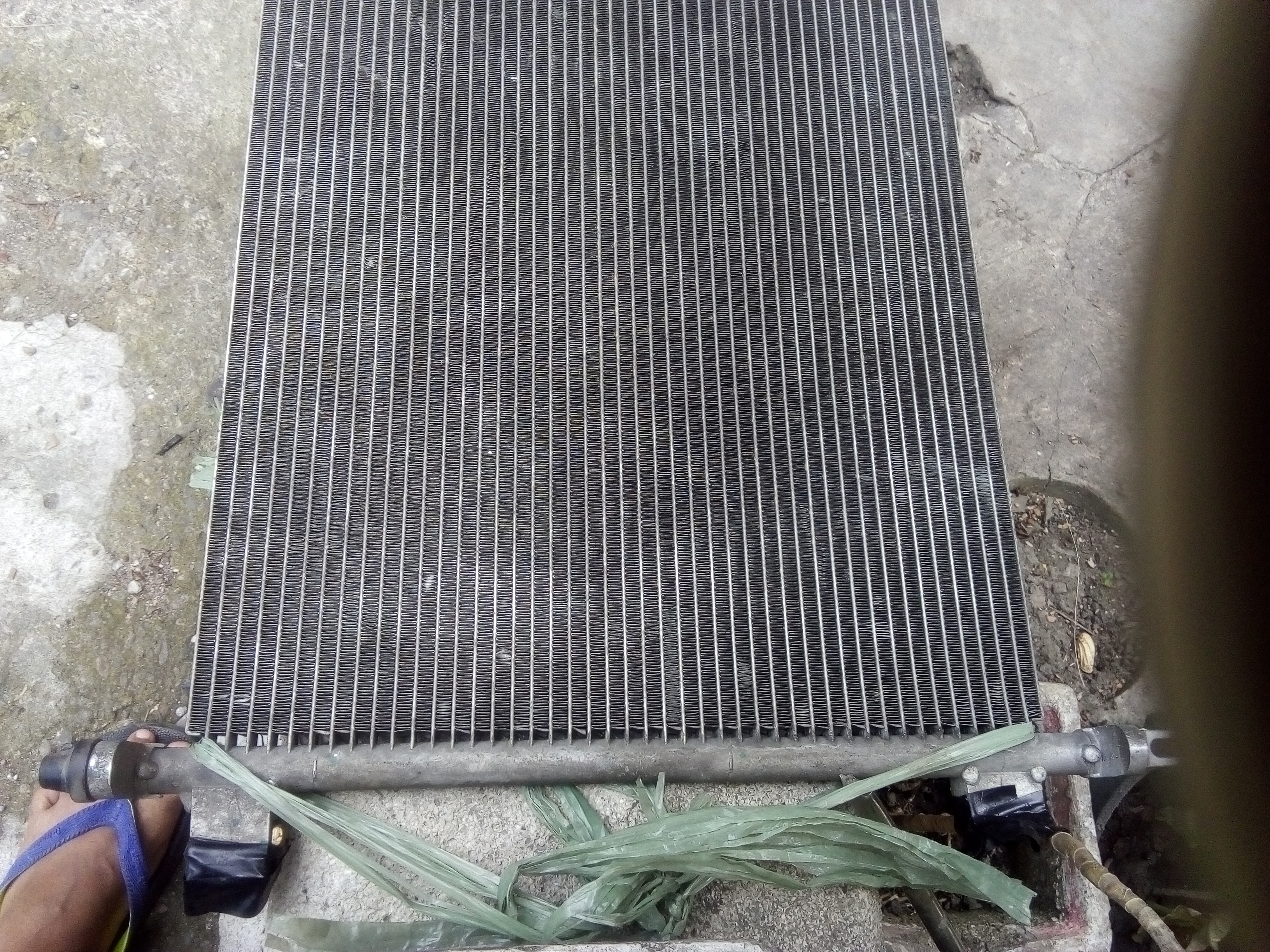 Used Nissan Almera 2016 aircon condenser photo