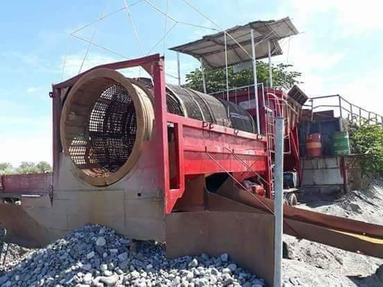 Trommel Aggregate Separator  photo