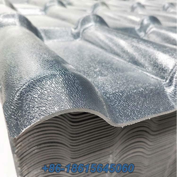 Utench pvc roof tiles from china  photo