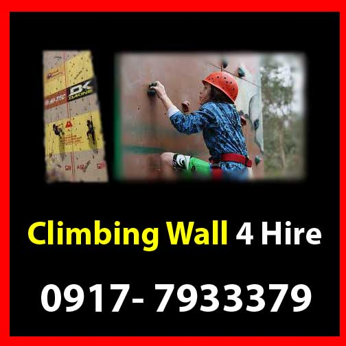 Climbing Wall  Rent Hire Manila Philippines photo