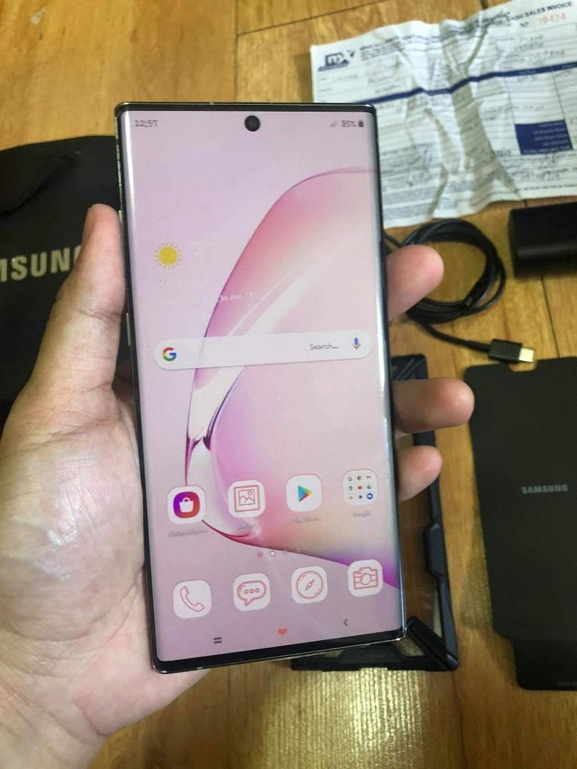 Samsung note 10 plus 256GB photo