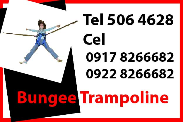 Bungy Trampoline  Rent Hire Manila Philippines photo