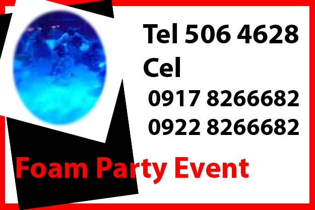 Foam Machine Party Rent Hire Manila Philippines photo