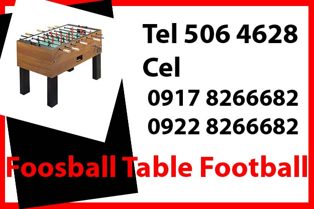 Foosball Football Table Game Rent Hire Manila Philippines photo