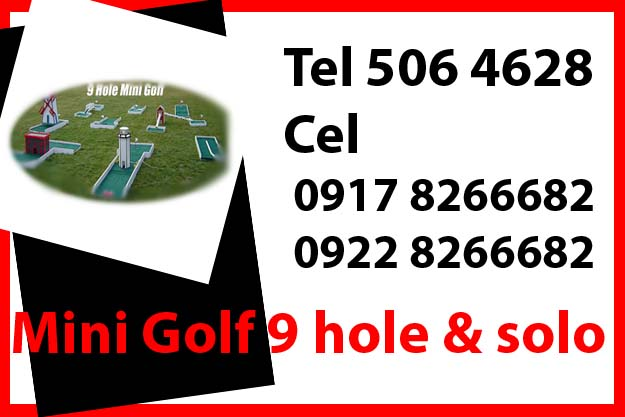 Mini Golf Game Rent Hire Manila Philippines photo