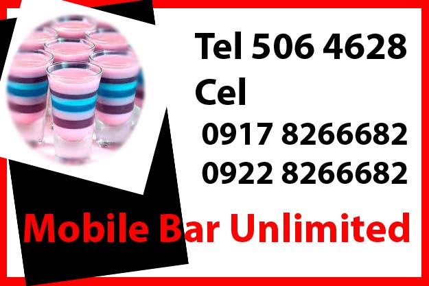 Mobile  Bar Rent Hire Manila Philippines photo