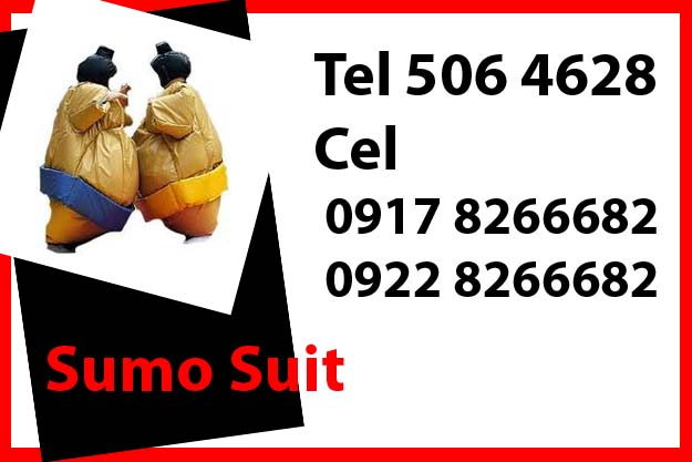 Sumo Suit Rent Hire Manila Philippines photo