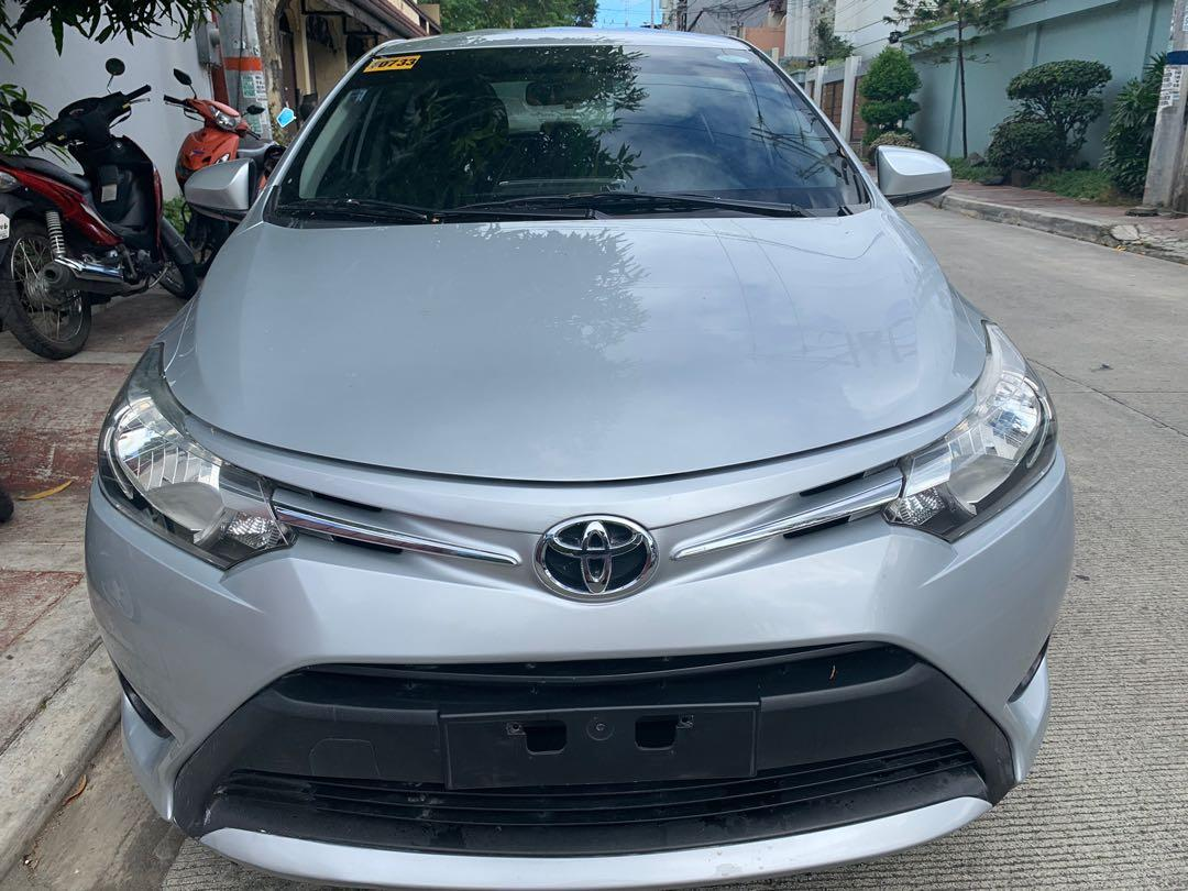 2016 Toyota Vios 1.3 E Dual Vvti Silver CVT AT photo