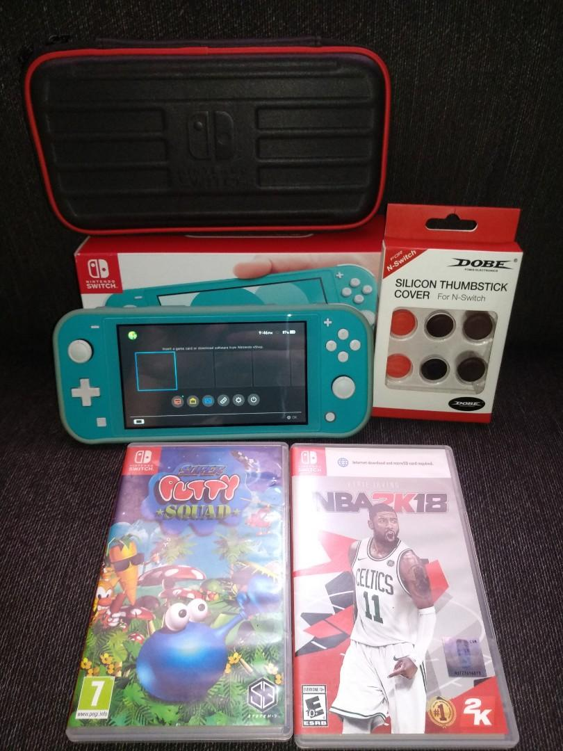 Nintendo Switch Lite Turquoise photo