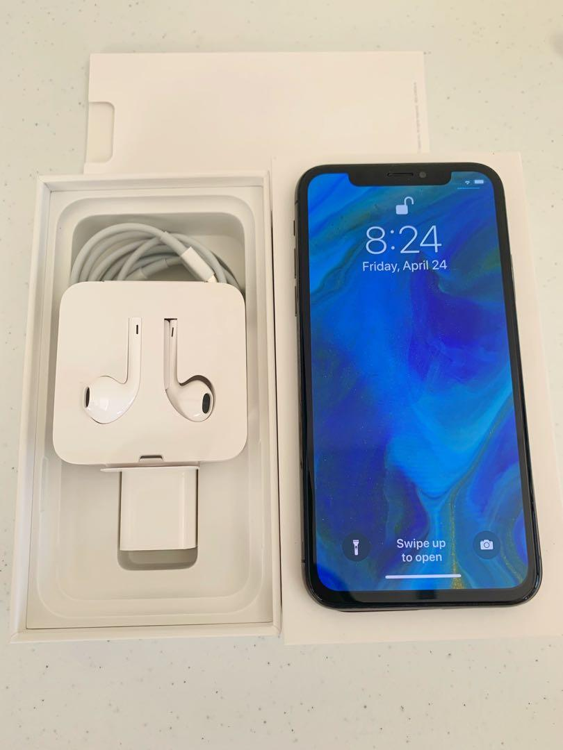 Iphone X 64gb globe locked photo