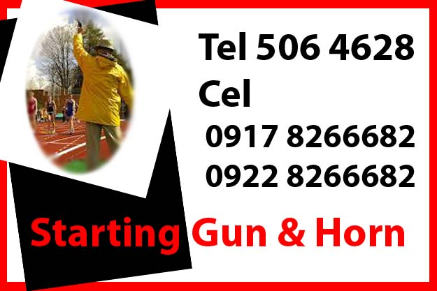 Start Gun Horn Rent Hire Manila Philippines photo
