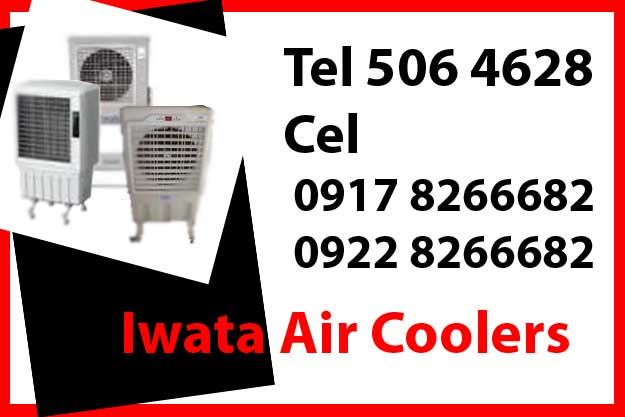 Iwata Aircooler Rent Hire Manila Philippines photo