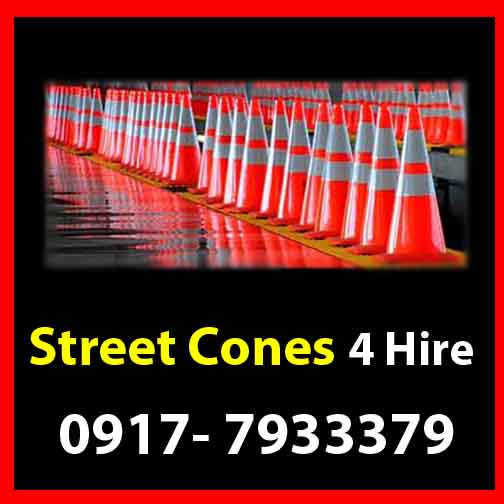 Street Cones  Rent Hire Manila Philippines photo