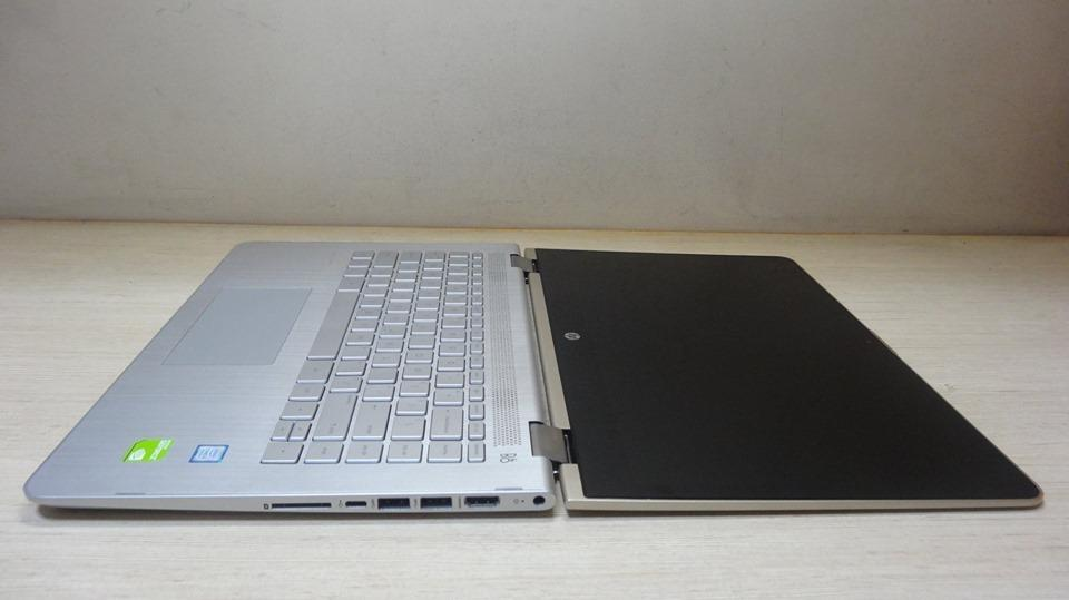 Hp Pavilion x360 Touch i5-8250u Sshd 1TB Nvidia 940MX Convertible photo
