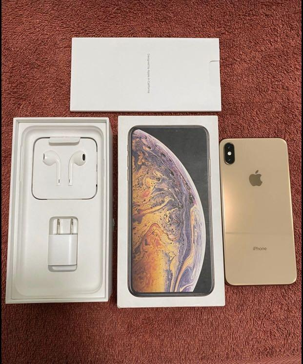 IPhone xs max 64gb Globelocked GOLD photo