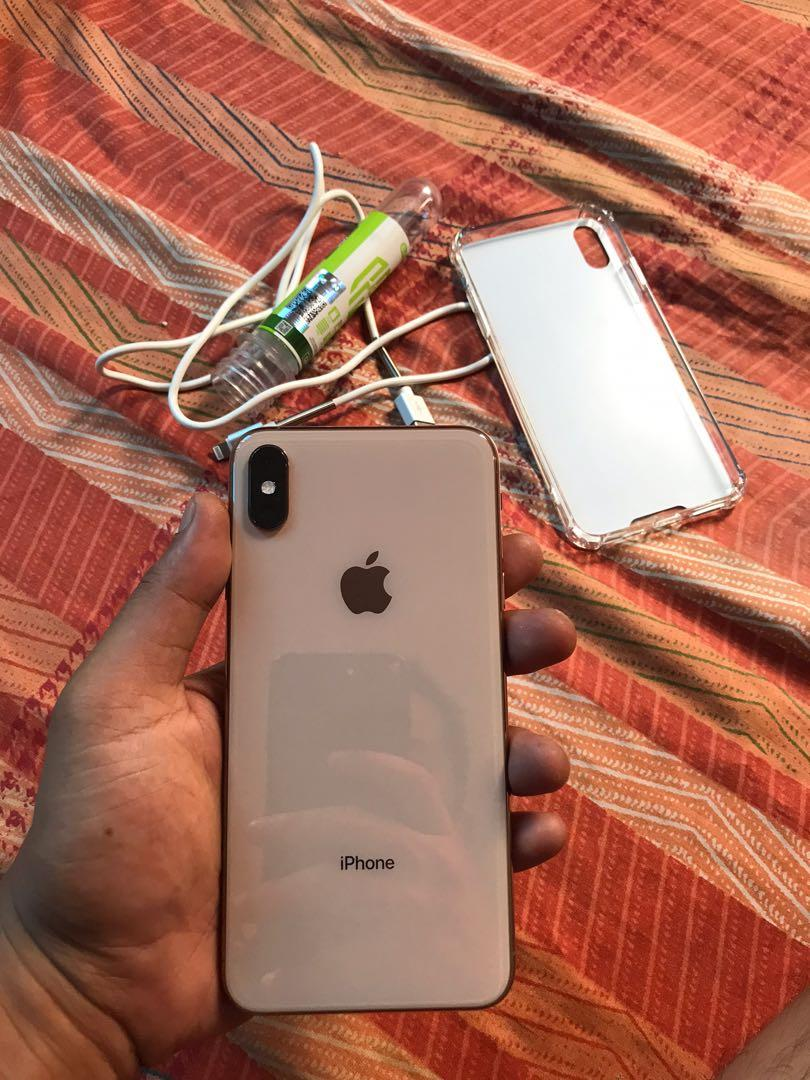 IPhone Xsmax 256gb Gold FU photo