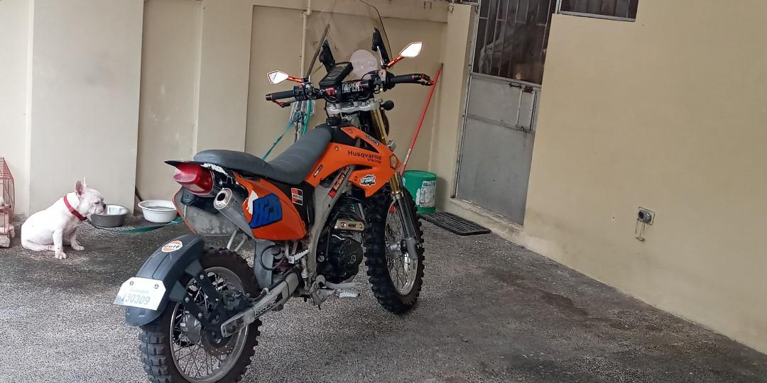 rusi KR200 base bike 2018 photo