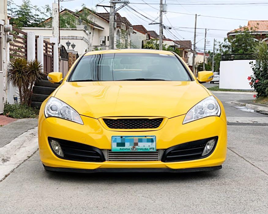 Hyundai Genesis 2.0 RS Turbo AT 2012 photo