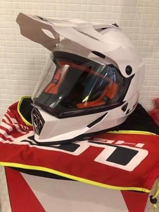 LS2 MX helmet Medium photo