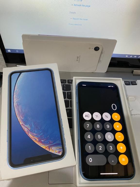 iPhone XR 64GB Blue photo