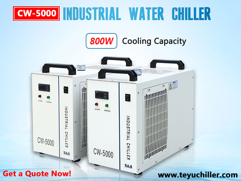 Water Chiller CW5000 for Non Metals Laser Cutters photo