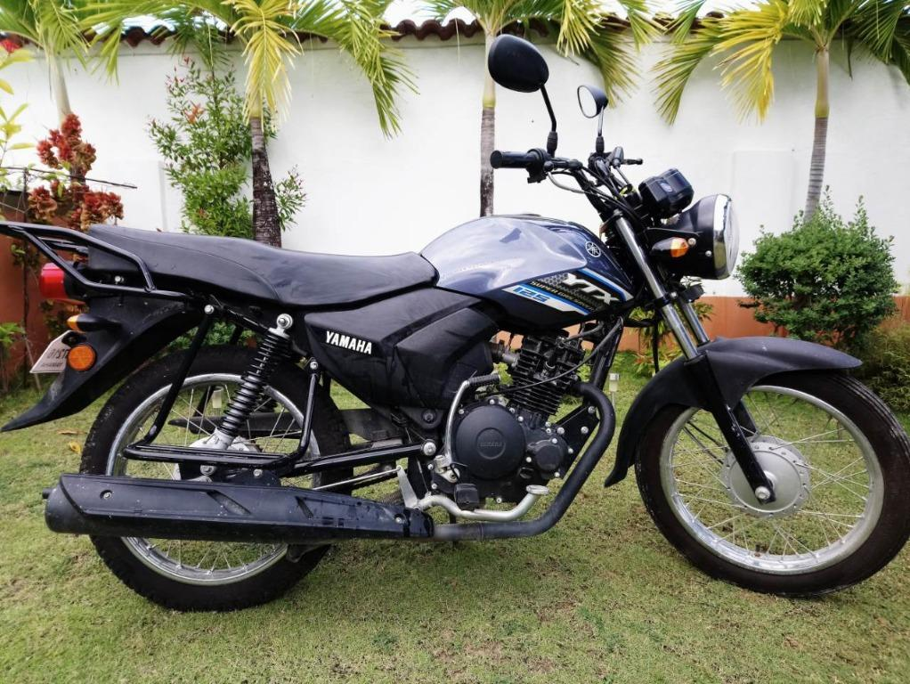 Motorbike YAMAHA YTX 125 BR21 BLUE photo