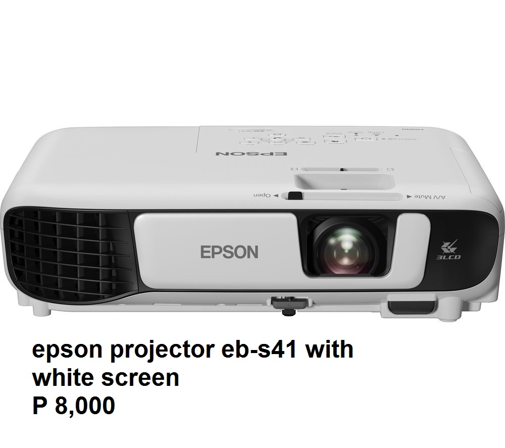 Epson Projector with Screen photo