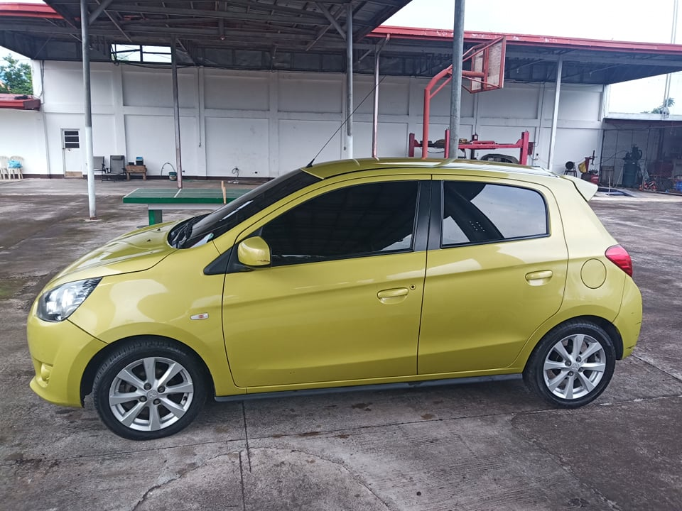 mitsubishi mirage 2014 photo