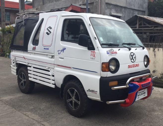 Suzuki multicab  carry with dropside canopy 2015, plus stainless topload, stainless bullbar, etc photo
