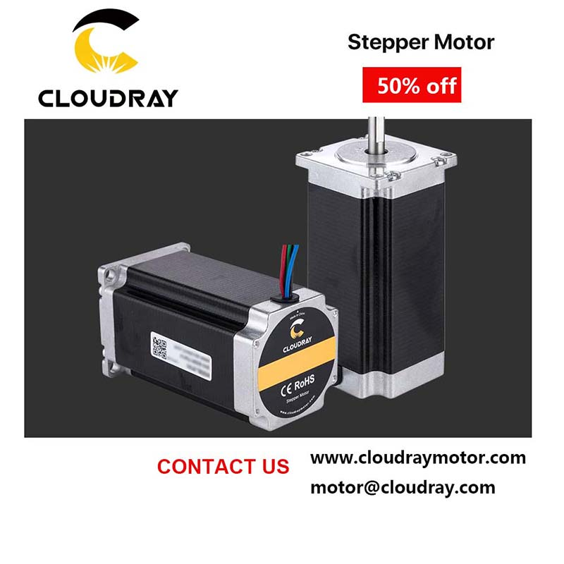 Nema CNC Stepper motor with long life photo