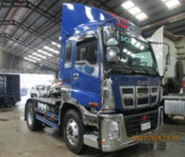 Sobida Isuzu Tractor Head EXD52D3 4x2 6wheeler photo