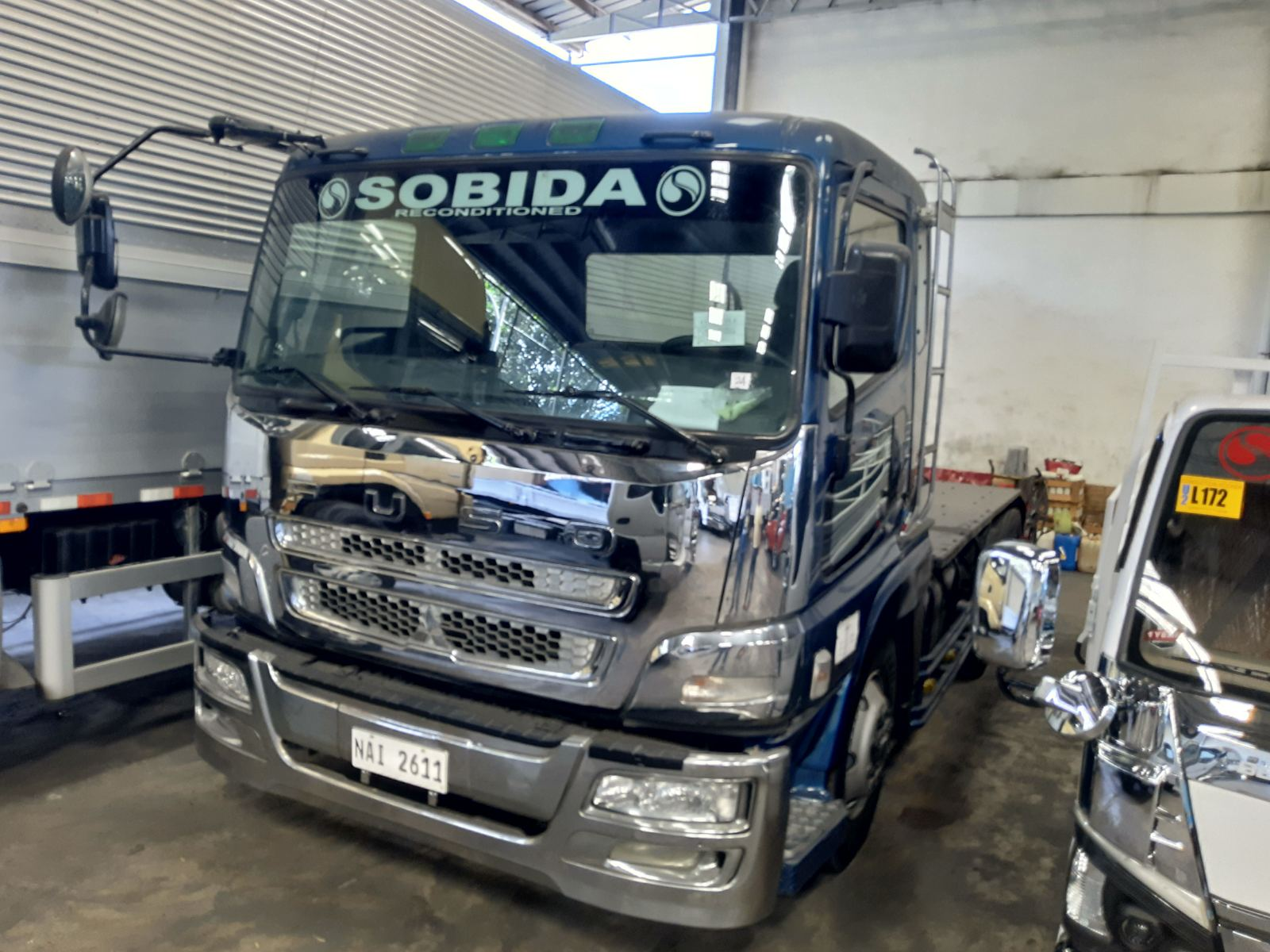 Sobida Mitsubishi FUSO Tractor Head Prime Mover 6x4 10wheel truck photo