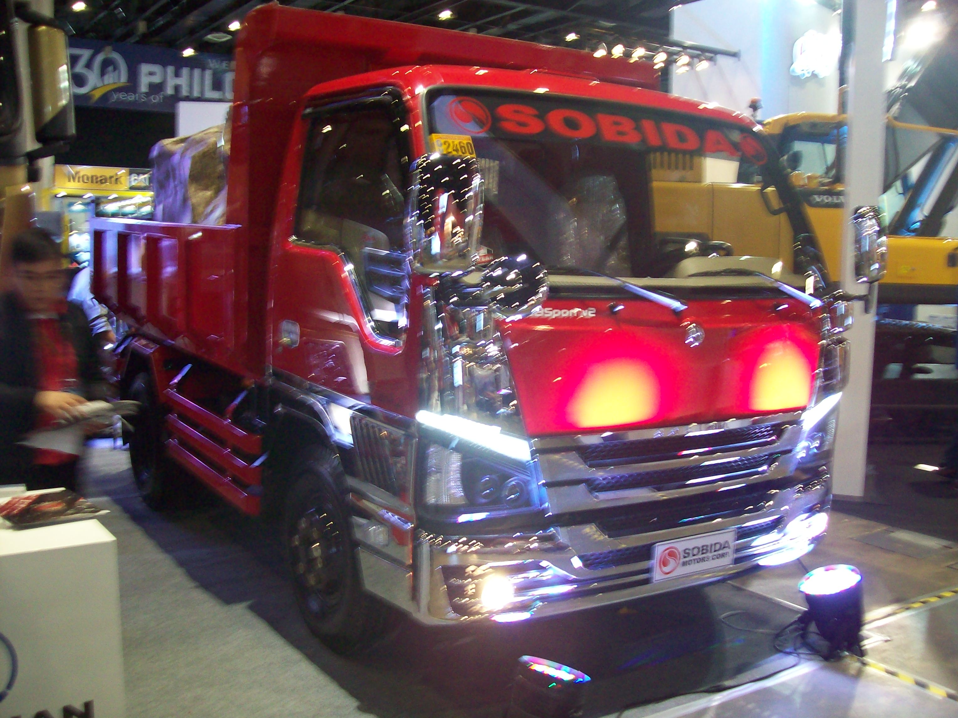 Sobida Isuzu NPR BB Sport v2 Elf Canter Hino Dump Truck photo