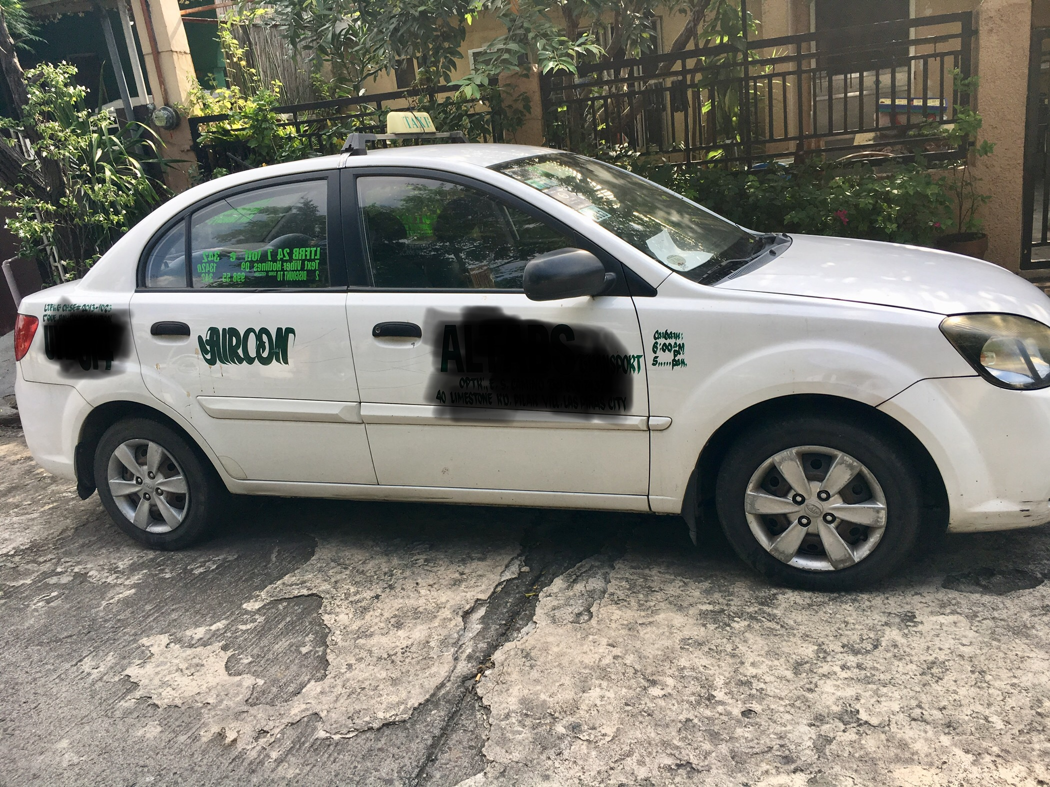Taxi with franchise 2024 for sale photo