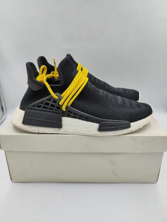 Adidas NMD HU Pharrell Human Species Black US 7.5 photo