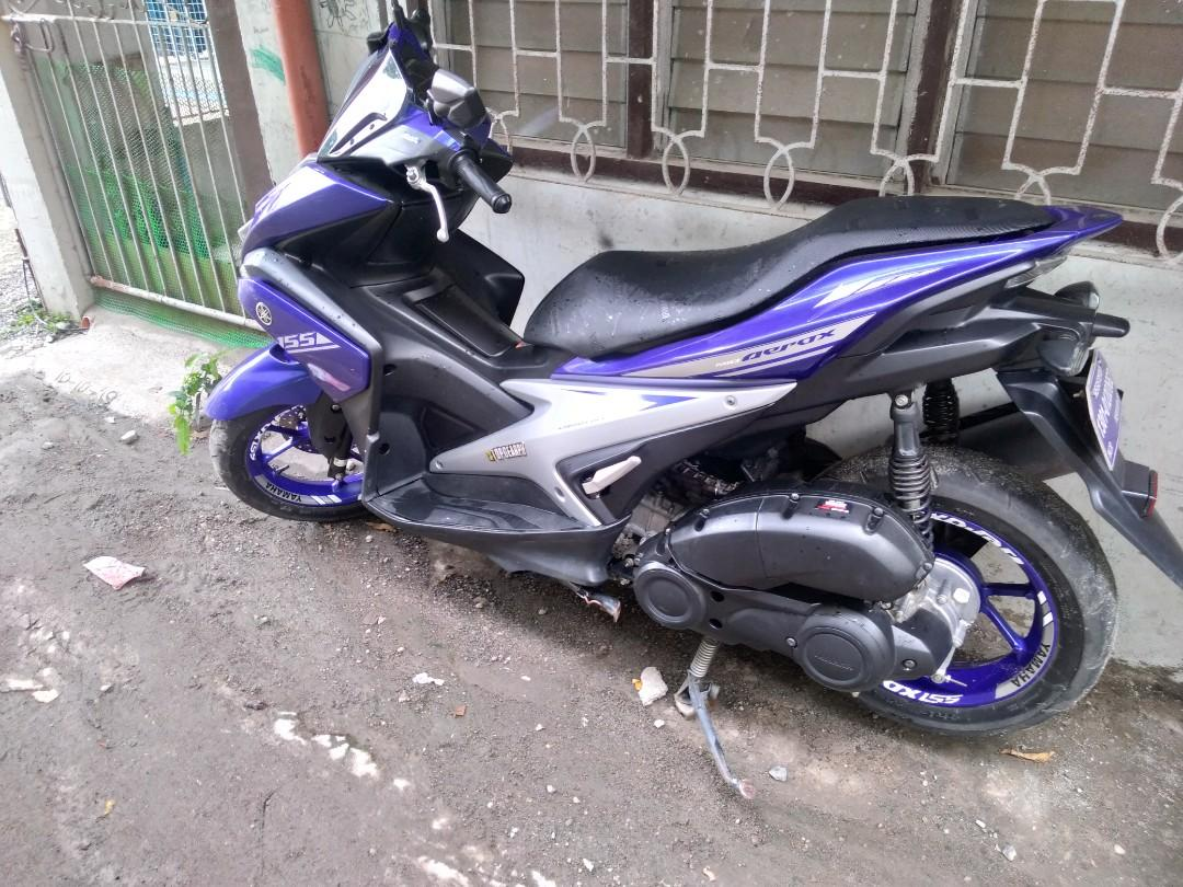 Yamaha aerox 2018 photo