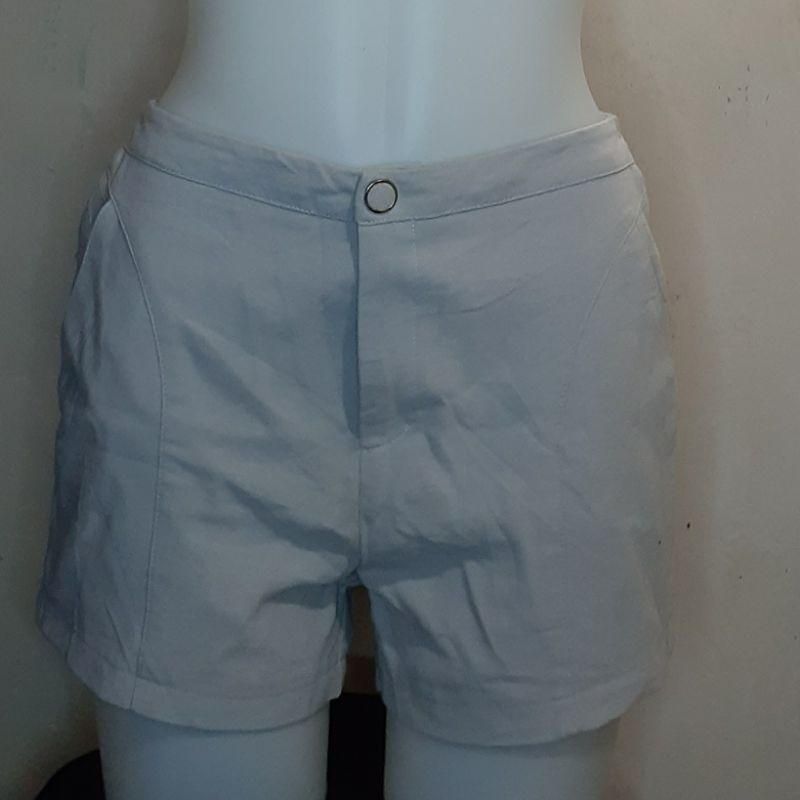 Gray korean shorts photo